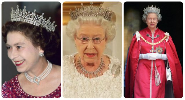 older queen elizabeth II in Girls of Great Britain and Ireland Tiara