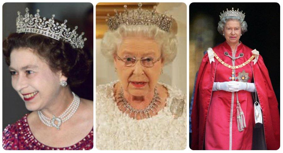 older queen elizabeth II in Girls of Great Britain and Ireland Tiara