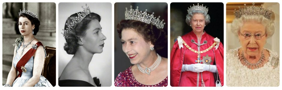 Queen Elizabeth II in Girl of GB & Ireland Tiara