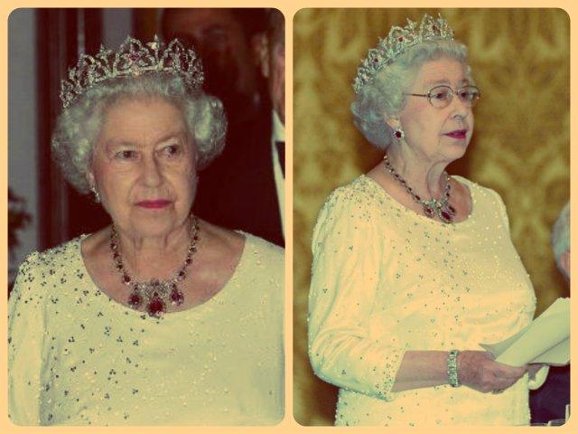 queen elizabeth ii in oriental circlet