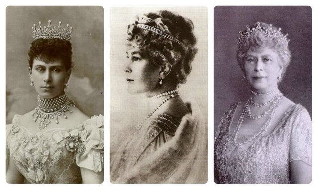 Queen Mary of Teck in Girls of GB & Ireland tiara