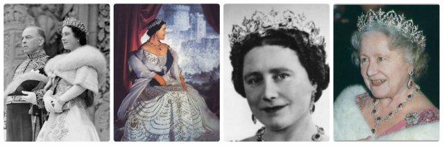 Queen Mum Elizabeth Oriental Circlet