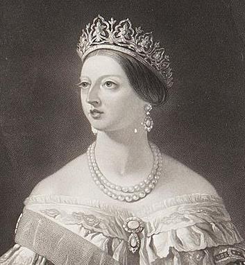 Queen Victoria in Oriental Circlet