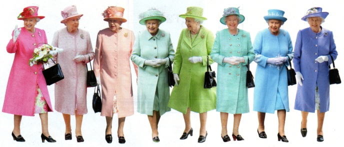 rainbow queen elizabeth II