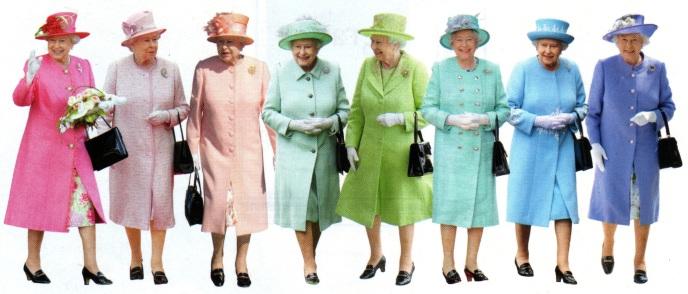 rainbow queen elizabeth II