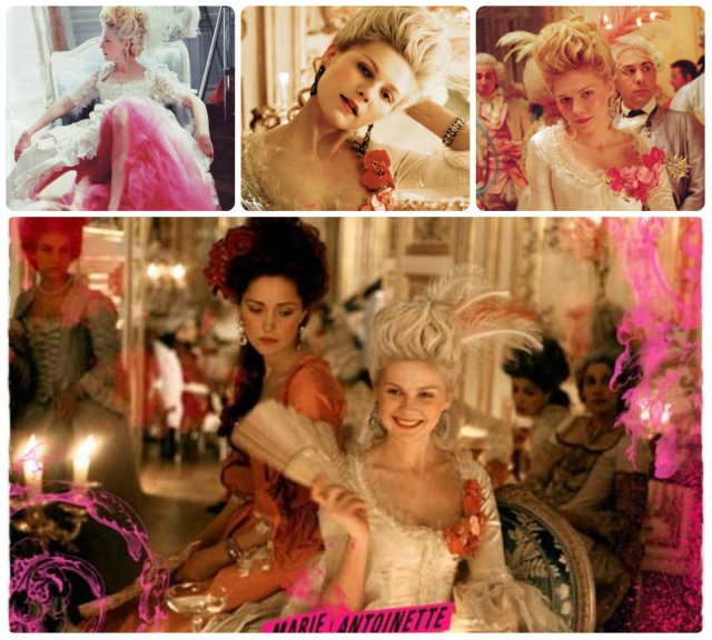 wigs and ostrich plumes costumes marie antoinette movie