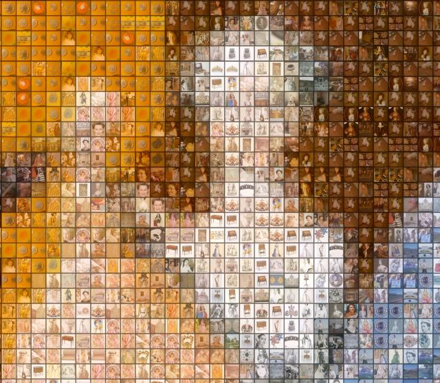marie antoinette mosaic zoom
