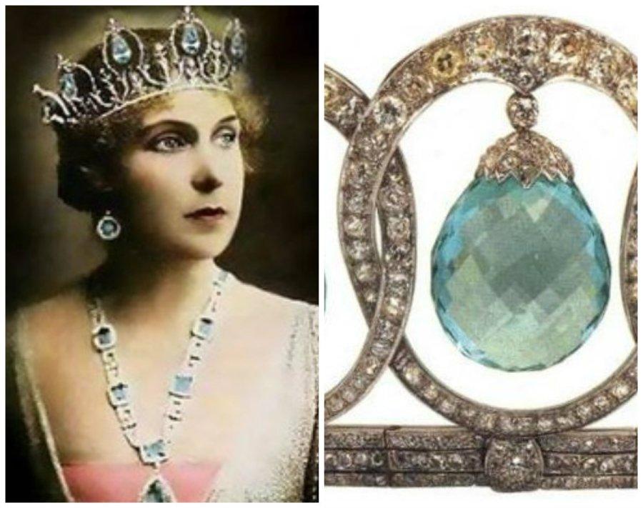 queen victoria eugenia's aquamarine tiara