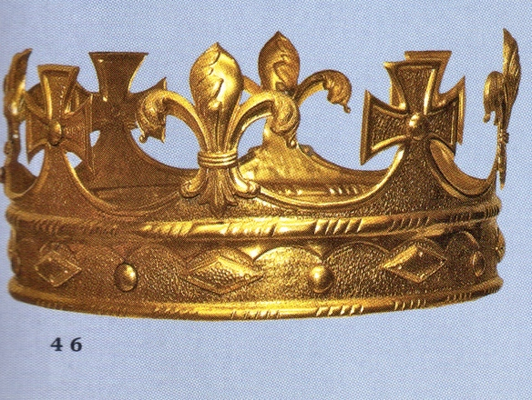 princess lilabet's coronet from her father's coronation