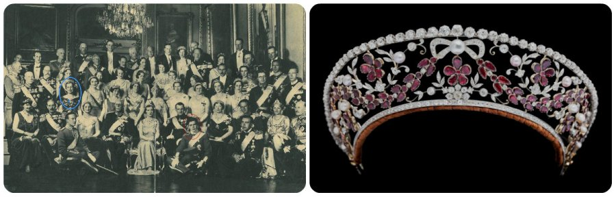family picture 1935 & ruby kokoshnik
