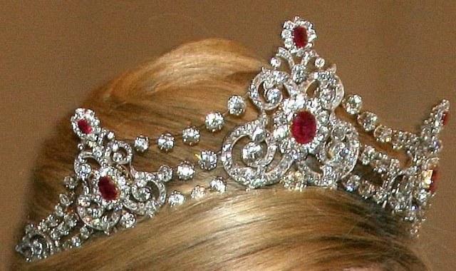 mellerio ruby tiara