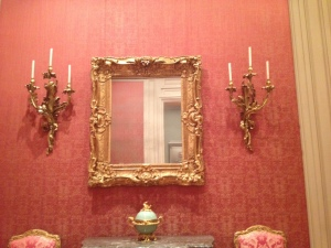 marie antoinette's wall sconces