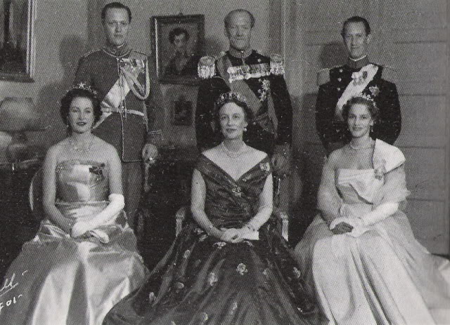 prince axel  of denmark and family