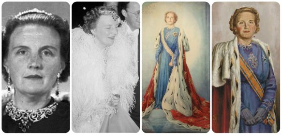 queen juliana in peacock parure