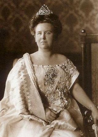 Queen Wilhelmina in the Peacock tiara