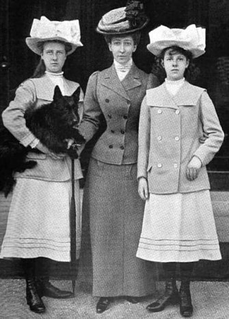 1908 duchess of fife with daughters