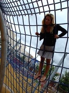 Nicole Franco at the Guggenheim in Bilbao