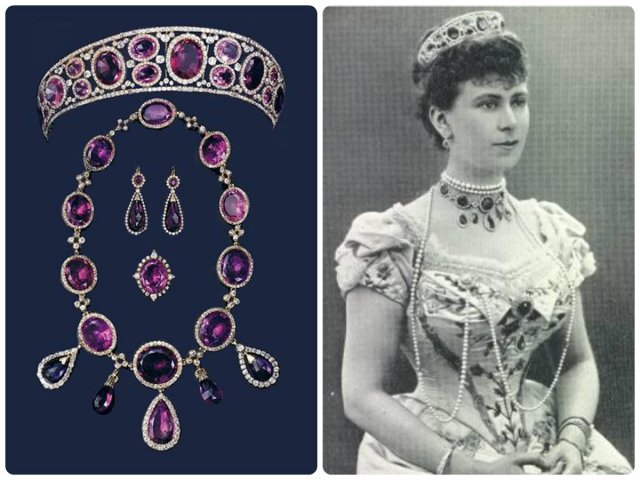 Queen Mary's Amethyst Parure