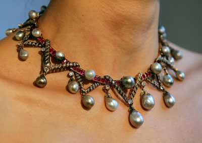 marie antoinette's real necklace
