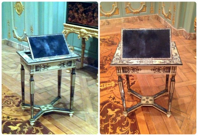 petit trianon reading table
