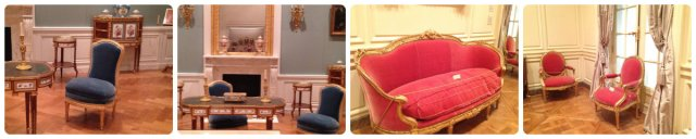 Louis XVI versailles seating