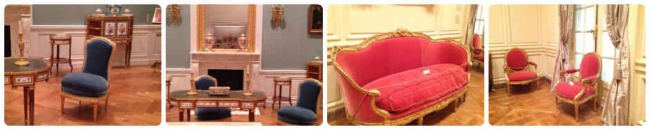 Louis XVI versailles seating