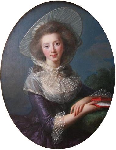 Vicomtesse de Vaudreuil by Vigée LeBrun