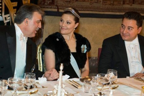 Crown Princess Victoria at the March 11 2013 state gala dinner