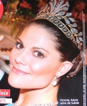 crown princess victoria steel flower tiara