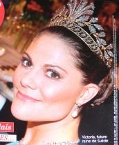 crown princess victoria steel flower tiara