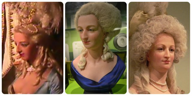 madame tussaud's marie antoinette sculptures