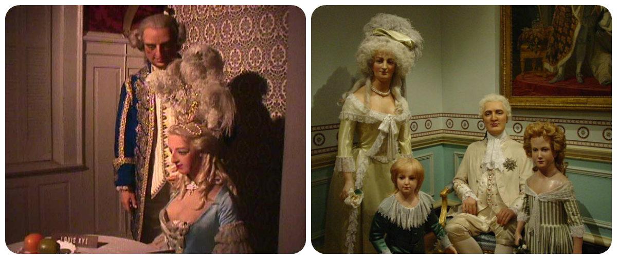 madame tussaud's wax...