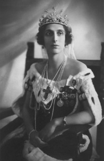 queen louise of sweden in nine prong tiara