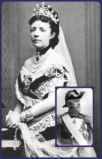 Queen Sophia of Sweden in the Nine Prong Tiara