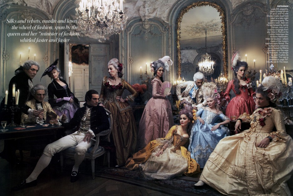 Vogue Sept 2006 marie antoinette movie