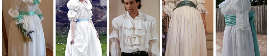 chemise à la reine in modern day
