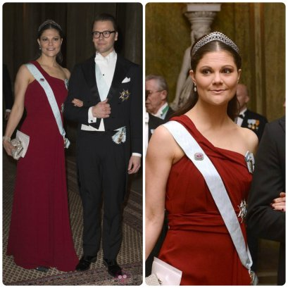 Crown Princess Victoria 2012 Nobel Gala steel cut tiara
