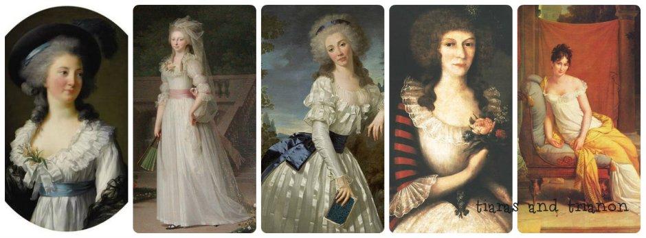 Elzbieta Czartoryska, Princess Louise Augusta of Denmark, Wiktoria Madalińska, madam recamie