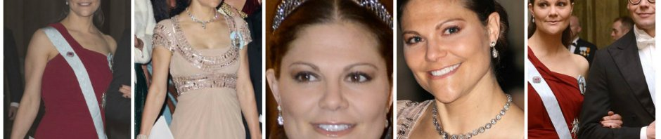 Crown Princess Victoria in the Steel Cut Bandeau tiara