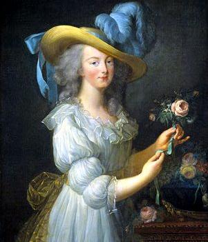 marie antoinette la reine en gaulle by Vigée LeBrun