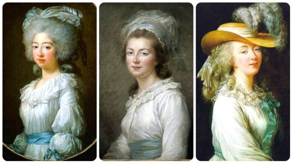 (1) maria josepha of savoy (2) madame elizabeth (3) comptesse dubarry