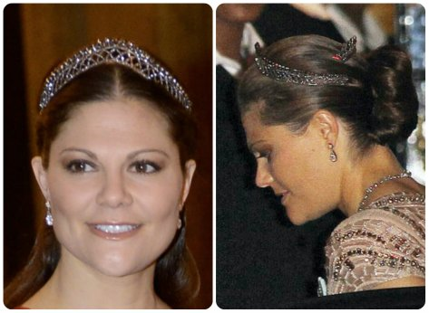 the other steel cut tiara on crown princess victoria