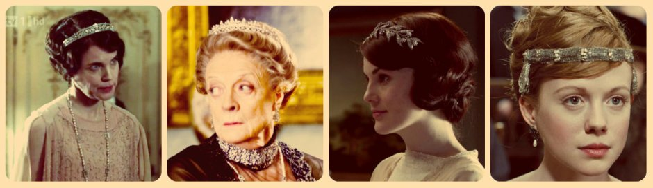 downton abbey tiaras