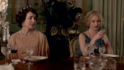 downton tiaras cora and mother