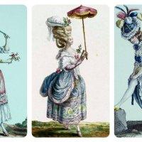 trianon cotoure: Robe à la Polonaise