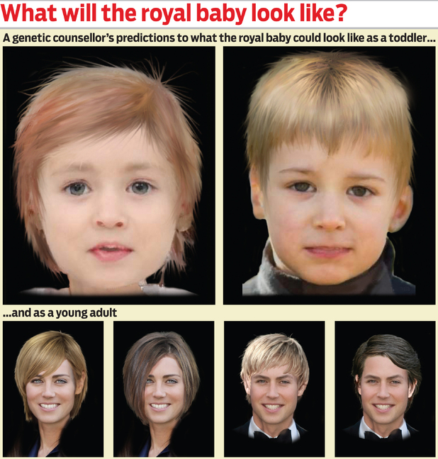 what will the Royal baby look like