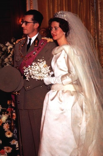 King Baudoin of Belgium wedding to Doña Fabiola