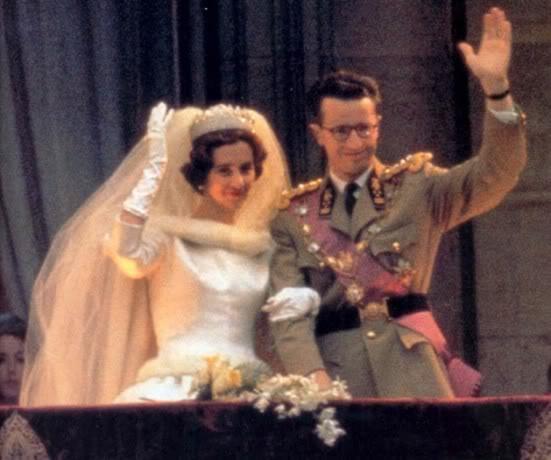 belgian wedding Queen Fabiola and King Baudouin