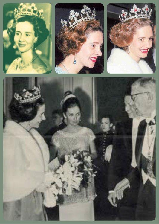queen fabiola coronet spanish wedding gift tiara