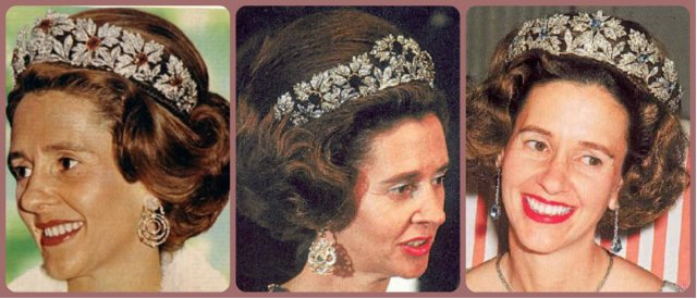 queen fabiola belgium spanish wedding gift tiara